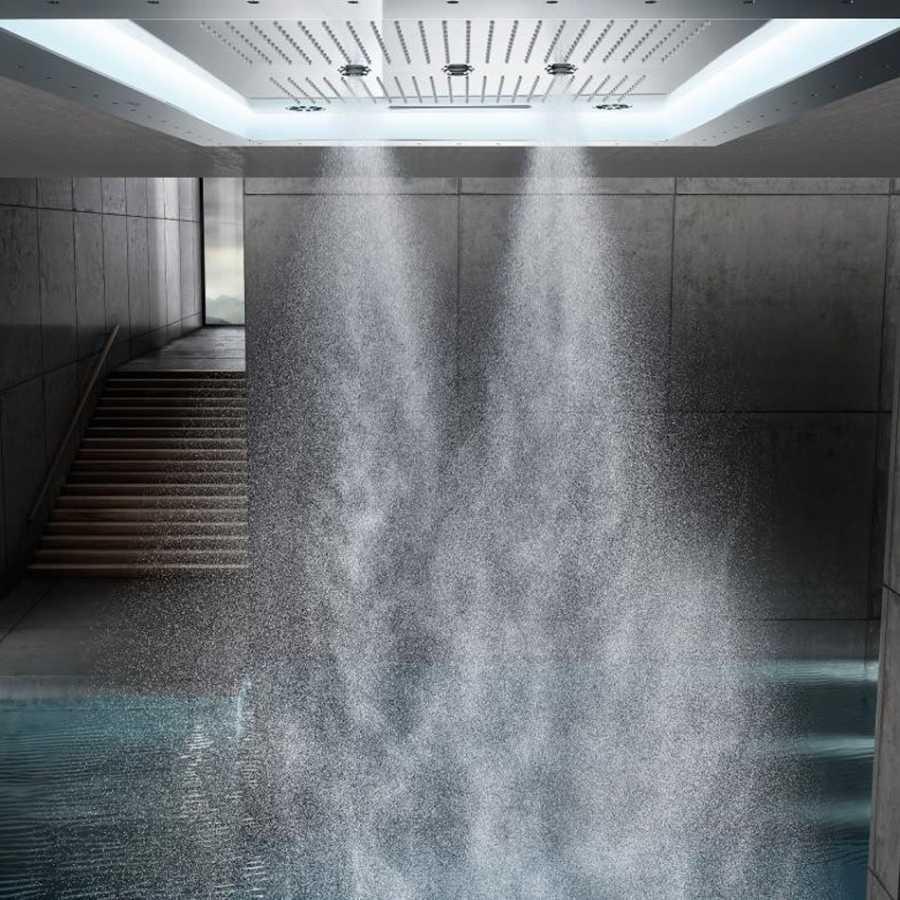 Rainshower F-Series Aquasymphony 8 Akışlı, Değişken Işıklı Ankastre Tepe Duşu