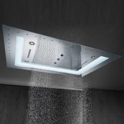 Rainshower F-Series Aquasymphony 8 Akışlı, Değişken Işıklı Ankastre Tepe Duşu - Thumbnail