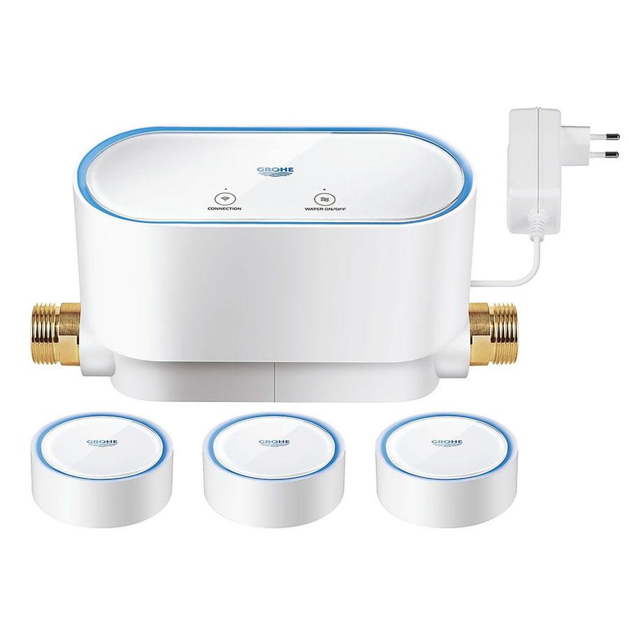 Grohe Sense Kit Akıllı Su Kontrol Cihazı + 3 X Akıllı Su Sensörü
