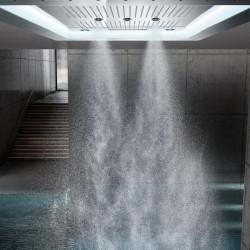 Grohe Rainshower F-Series Aquasymphony 8 Akışlı, Değişken Işıklı Ankastre Tepe Duşu - 26373001 - Thumbnail