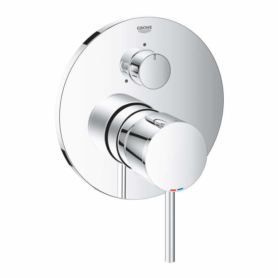 Grohe Atrio New Ankastre Banyo Duş Bataryası 3 çıkışlı divertörlü- 24096003
