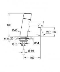 Concetto Lavabo Bataryası - 32207001 - Thumbnail