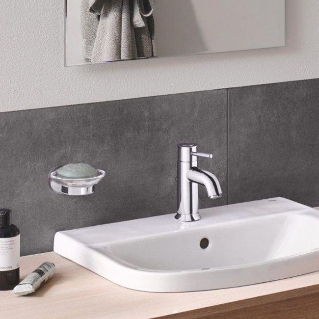 Grohe Essentials Sabunluk Camı Banyo Aksesuarı
