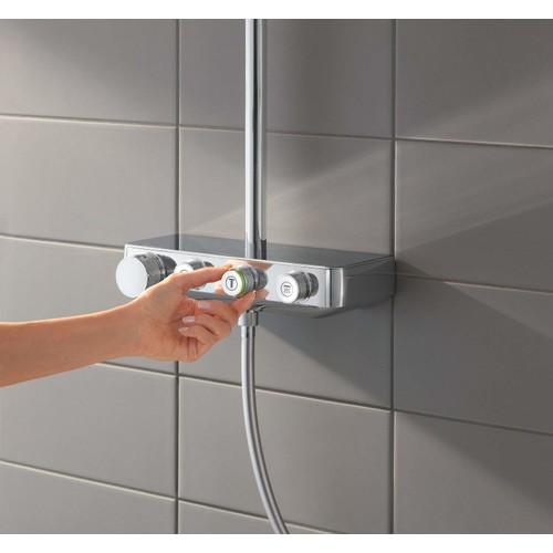 Grohe Euphoria SmartControl System 310 Duo Duvara Monte Termostatik Bataryalı Duş Sistemi - 26507000
