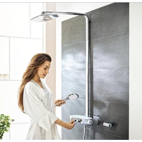 Grohe SmartControl 300 Termostatik Duş Bataryalı Borulu Duş Sistemi - 26250000