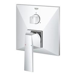 Grohe Allure Brilliant Ankastre Banyo Duş Bataryası 3 çıkışlı divertörlü- 24099000 - Thumbnail