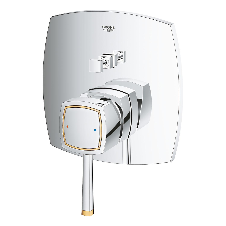 Grohe Ankastre Banyo Bataryası 2 Çık. Grandera Kr/Altın- 24068IG0