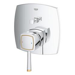 Grohe Ankastre Banyo Bataryası 2 Çık. Grandera Kr/Altın- 24068IG0 - Thumbnail