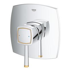 Grohe Ankastre Duş Bataryası 1 Çık. Grandera Krom/Altın-24067IG0 - Thumbnail