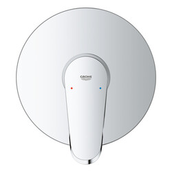 Grohe Ankastre Duş Bataryası 1 Çıkışlı Eurodisc Krom - 24055002 - Thumbnail