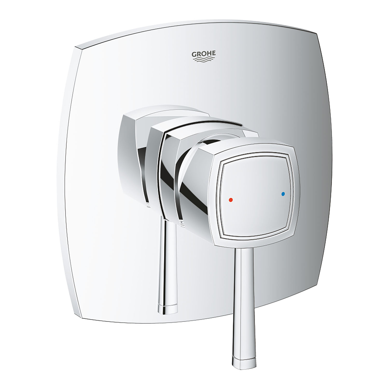 Grohe Ankastre Duş Bataryası 1 Çıkışlı Grandera Krom - 24067000