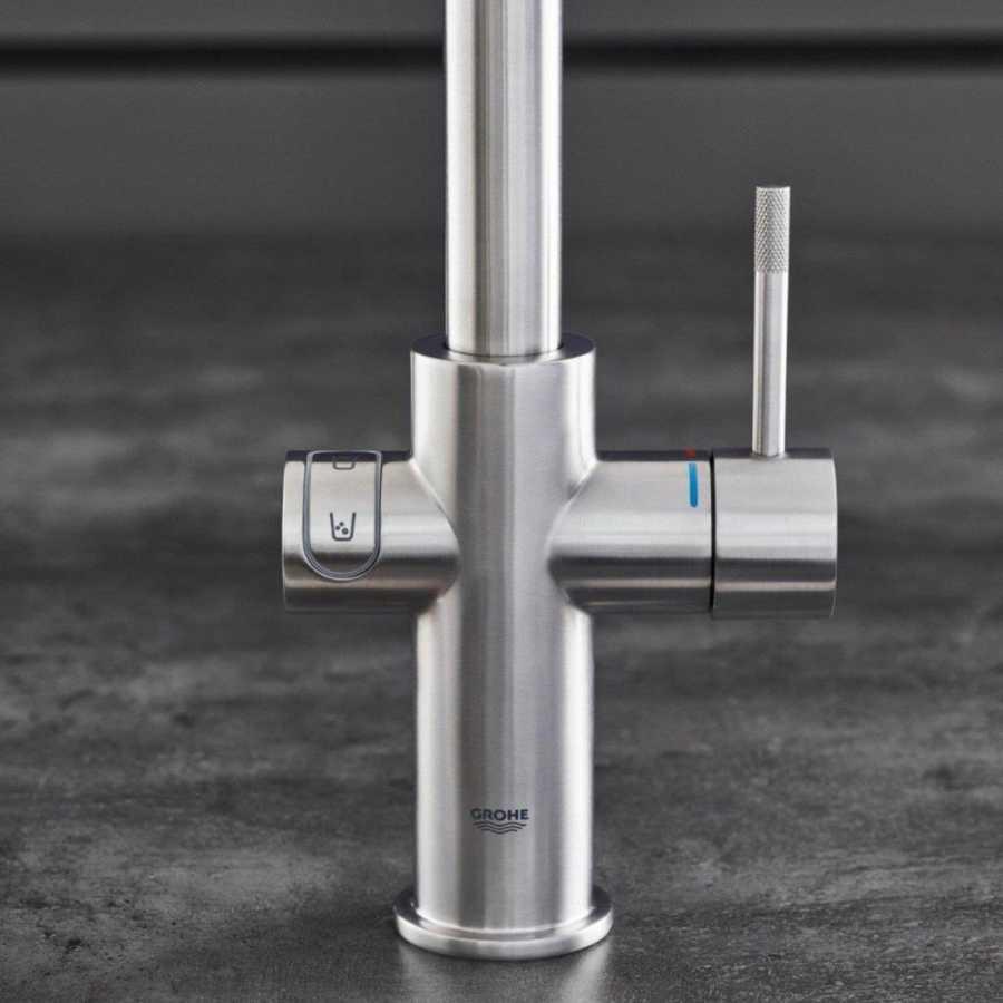 Grohe Blue Home Arıtmalı İçme Suyu ve Soda Yapan Eviye Bataryası - 31545001