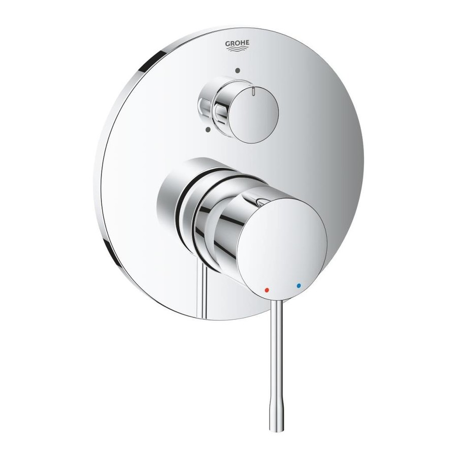 Grohe Essence Ankastre Banyo Duş Bataryası 3 çıkışlı divertörlü- 24092001
