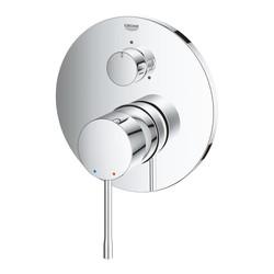Grohe Essence Ankastre Banyo Duş Bataryası 3 çıkışlı divertörlü- 24092001 - Thumbnail