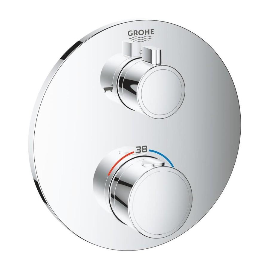 Grohe Grohtherm Termostatik Banyo Duş Bataryası 2 çıkışlı divertörlü- 24077000