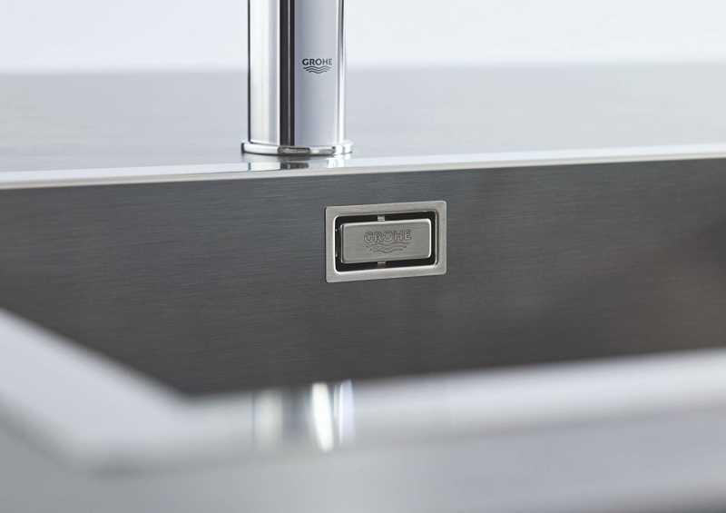 Grohe K700 1,5 Hazneli Eviye Paslanmaz Çelik - 31575SD0