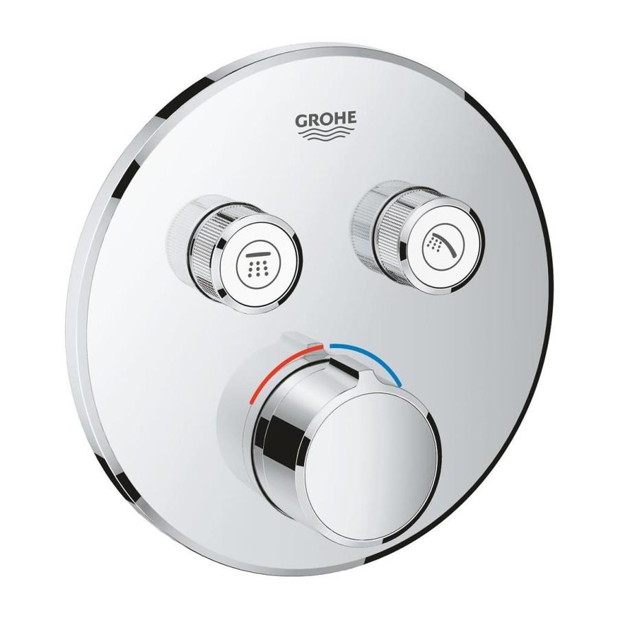 Grohe Smartcontrol Çift Valfli Akış Kontrollü Ankastre Duş Bataryası 29145000