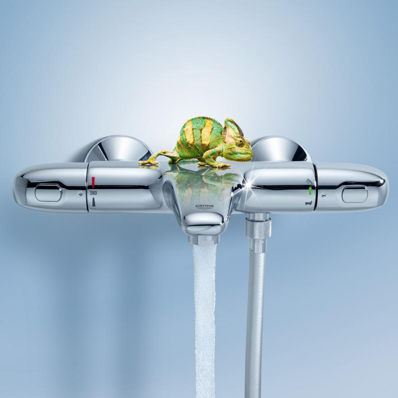 Grohe Grohtherm 1000 New Termostatik Banyo Bataryası - 34155003