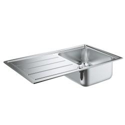 Grohe K500 Damlalıklı Paslanmaz Çelik Eviye - Thumbnail