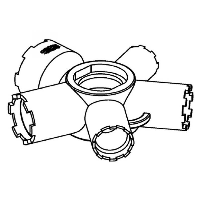 Grohe 7 Değişik Perlatöre Uygun Sökme Takma Anahtarı - 48021000