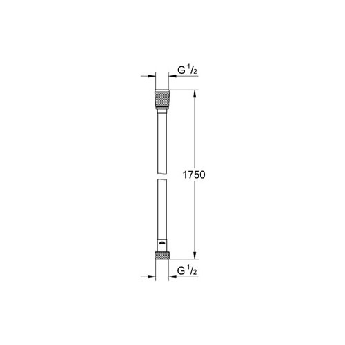 Grohe Relexa Silverfleks Spiral Hortum 175 cm