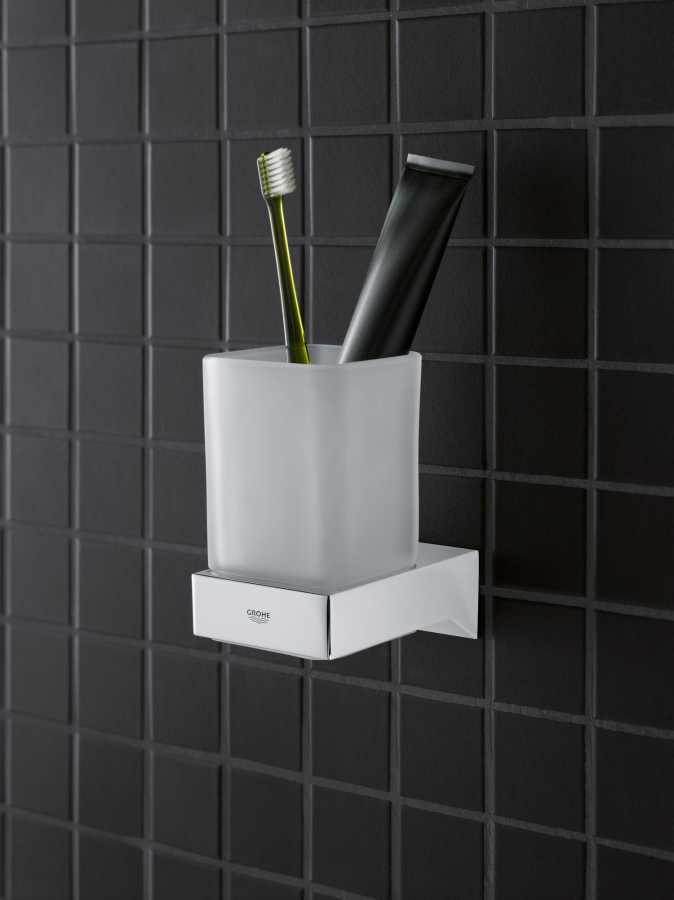 Grohe Selection Cube Diş Fırçalık Camı