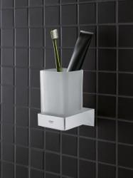 Grohe Selection Cube Diş Fırçalık Camı - 40783000 - Thumbnail