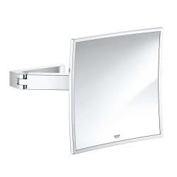 Grohe Selection Cube Duvara Monte Makyaj Aynası Krom - 40808000 - Thumbnail