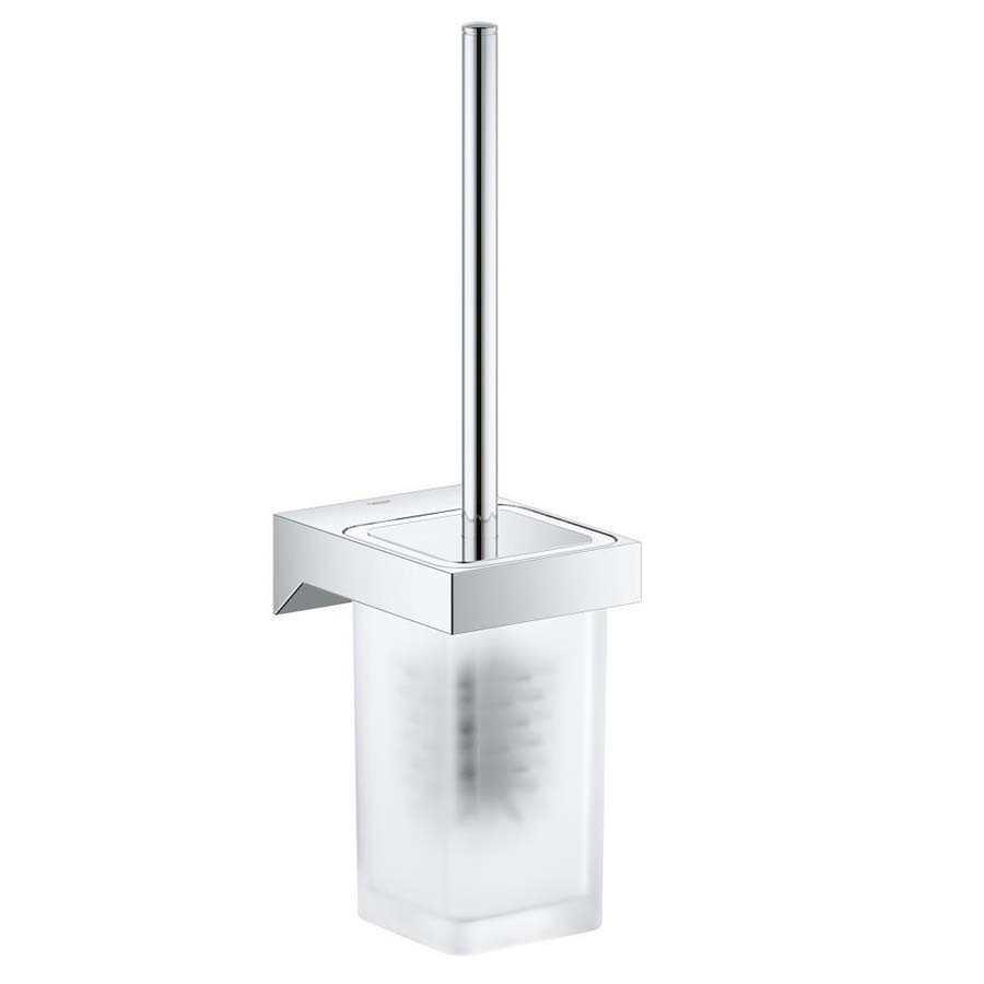 Grohe Selection Cube Tuvalet Fırçası Seti - 40857000