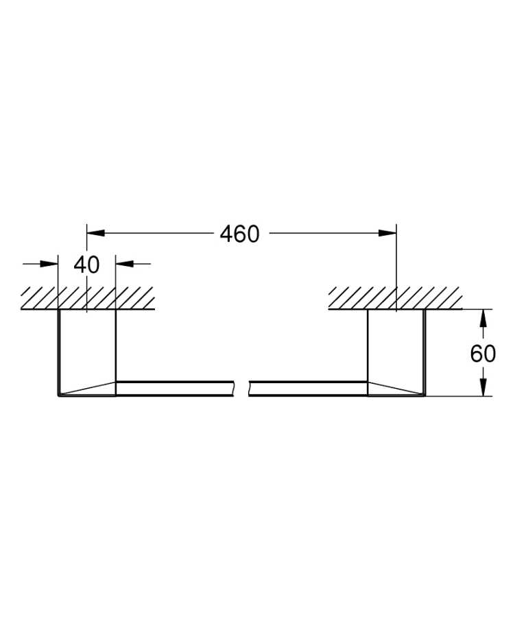 Grohe Selection Cube Uzun Havluluk - 40767000