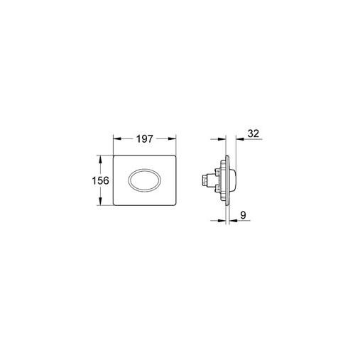 Skate Air Gömme Rezervuar Paneli - 38565SH0