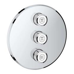 Grohe Grohtherm Smartcontrol Üç Noktadan Akış Kontrollü Kumanda - 29122000 - Thumbnail