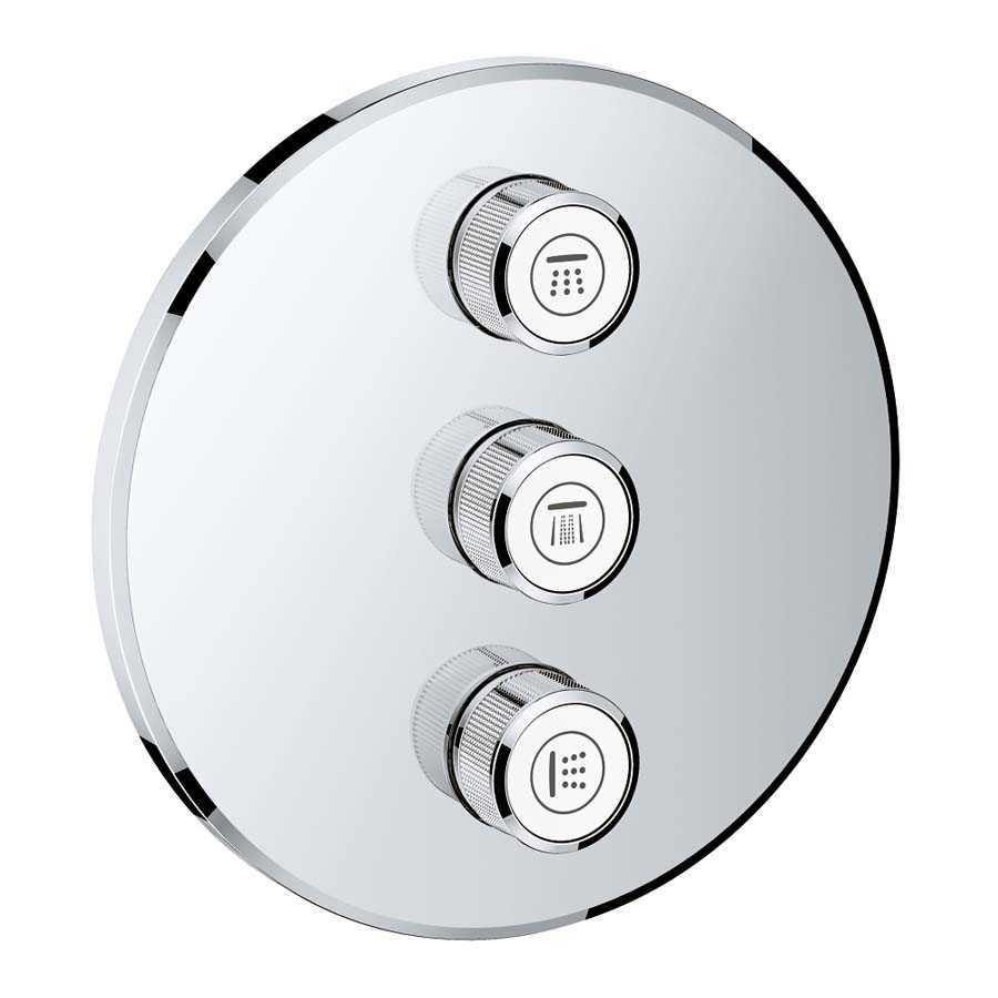 Grohe Grohtherm Smartcontrol Üç Noktadan Akış Kontrollü Kumanda - 29122000