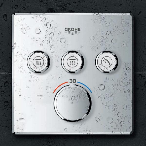 Grohe Grohtherm Smartcontrol Üç Noktadan Akış Kontrollü Kumanda - 29126000