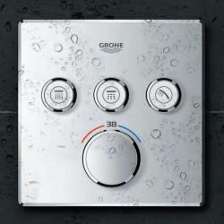 Grohe Grohtherm Smartcontrol Üç Noktadan Akış Kontrollü Kumanda - 29126000 - Thumbnail
