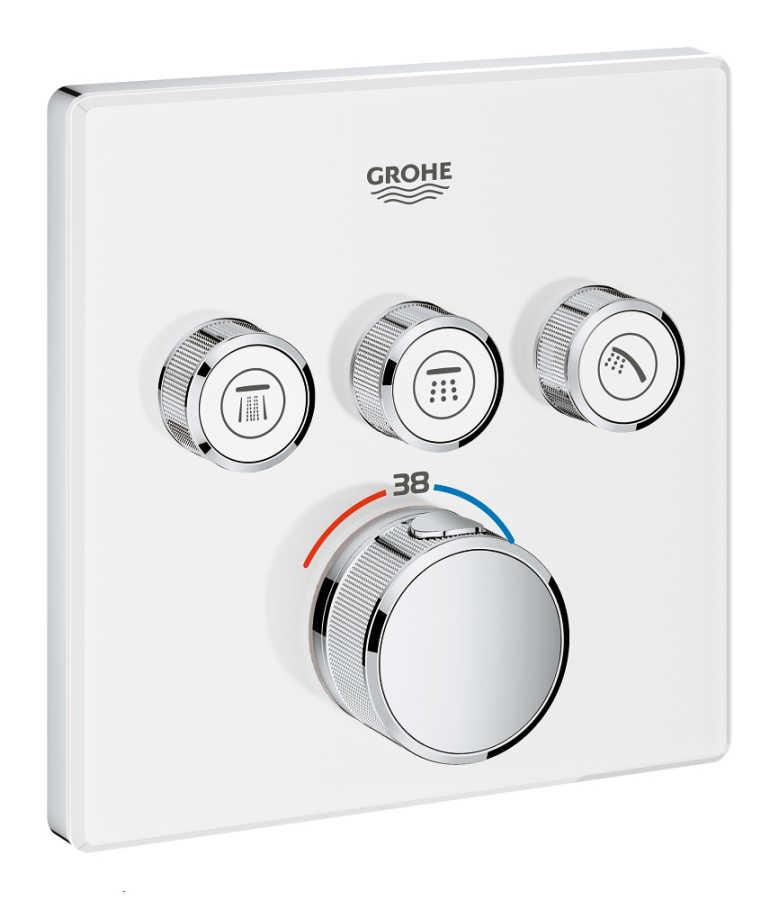 Grohe Grohtherm Smartcontrol Üç Yollu Yön Değiştiricili Ankastre Termostatik Duş Bataryası - 29157LS0