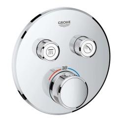 Grohe Grohtherm Smartcontrol Çift Yönlü Ankastre Termostatik Duş Bataryası - 29119000 - Thumbnail