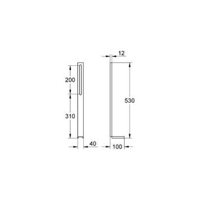GROHE - Grohe Uniset Destekleme Ayakları - 37304000 (1)